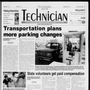 Technician, Vol. 79 No. 67, January 13, 1999