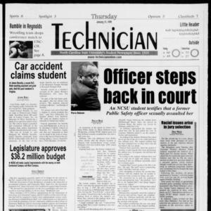 Technician, Vol. 79 No. 68, January 14, 1999
