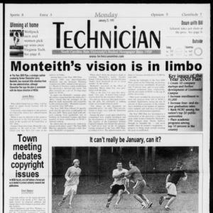 Technician, Vol. 79 No. 71, January 25, 1999