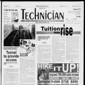 Technician, Vol. 79 No. 73, January 27, 1999