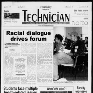 Technician, Vol. 79 No. 74, January 28, 1999