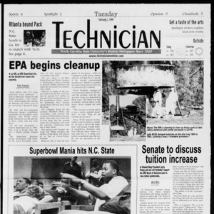 Technician, Vol. 79 No. 76, February 2, 1999