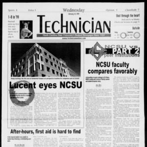 Technician, Vol. 79 No. 81, February 10, 1999