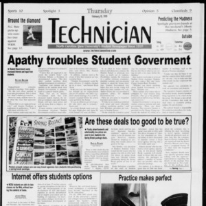 Technician, Vol. 79 No. 86, February 18, 1999