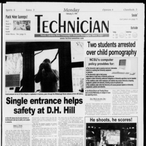 Technician, Vol. 79 No. 87, February 22, 1999