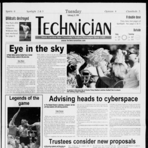Technician, Vol. 79 No. 87, February 23, 1999