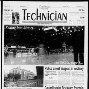 Technician, Vol. 79 No. 90, February 25, 1999