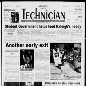 Technician, Vol. 79 No. 91, March 1, 1999