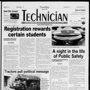 Technician, Vol. 79 No. 92, March 2, 1999