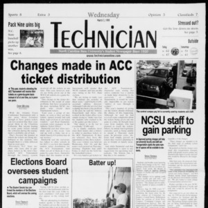Technician, Vol. 79 No. 93, March 3, 1999