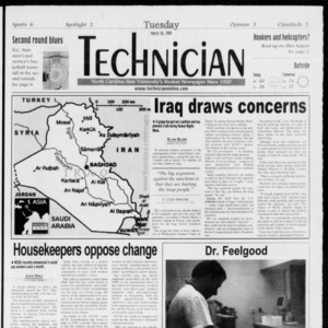 Technician, Vol. 79 No. 96, March 16, 1999