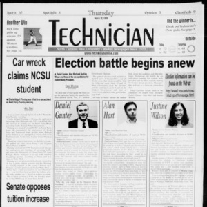 Technician, Vol. 79 No. 98, March 18, 1999