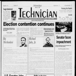 Technician, Vol. 79 No. 99, March 22, 1999