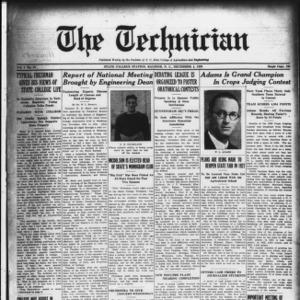 Technician, Vol. 7 No. 12, December 4, 1926