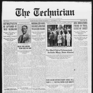 Technician, Vol. 7 No. 13, December 11, 1926