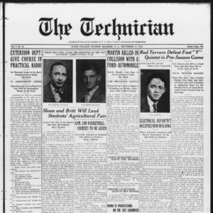 Technician, Vol. 7 No. 14, December 18, 1926
