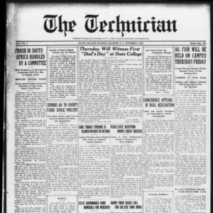 Technician, Vol. 7 No. 4, October 9, 1926