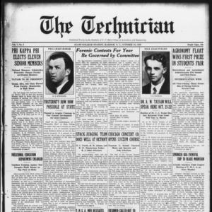 Technician, Vol. 7 No. 5, October 16, 1926