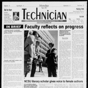 Technician, Vol. 80 No. 1, May 24, 1999