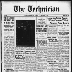 Technician, Vol. 8 No. 11, December 3, 1927