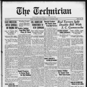Technician, Vol. 8 No. 15, January 28, 1928