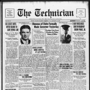 Technician, Vol. 9 No. 14, January 12, 1929