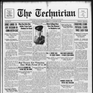 Technician, Vol. 9 No. 15, January 19, 1929