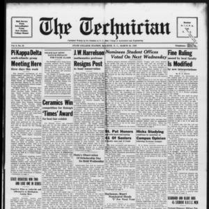 Technician, Vol. 9 No. 24, March 23, 1929