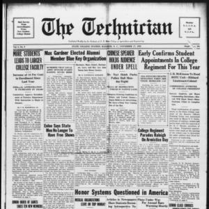 Technician, Vol. 9 No. 9, November 17, 1928