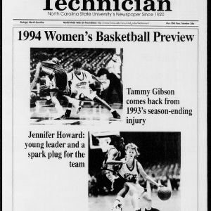 Technician Women's Basketball Preview, Vol. 75 No. 36a November 19, 1994