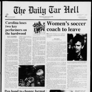 Technician: The Daily Tar Hell, Vol. 00 No. 666, January 21, 1998