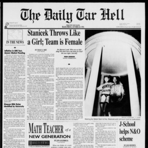 The Daily Tar Hell, Vol. 7 No. 13, October 28, 1994