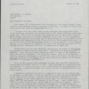 Admissions, 1956