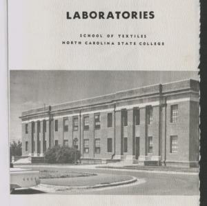 School of Textiles, 1962-1963