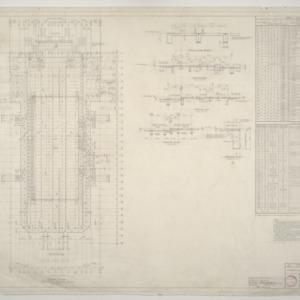 NCSU Armory -- Arena Floor Concrete Framing Plan