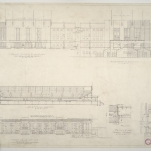 NCSU Armory -- Elevations and Sections