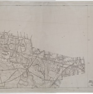 North Carolina State College, Western Boulevard, Southern Railway: Topographic and Contour Maps, 1950 (3 of 3)
