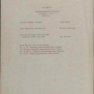 Administrative Council :: Correspondence
