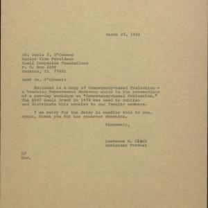 Shell Oil Company Foundation Grant :: Correspondence