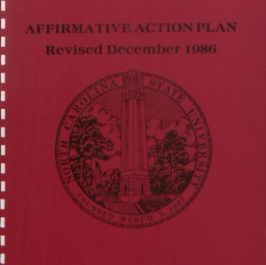 Affirmative Action Plan (1 of 2) :: Affirmative Action Plans
