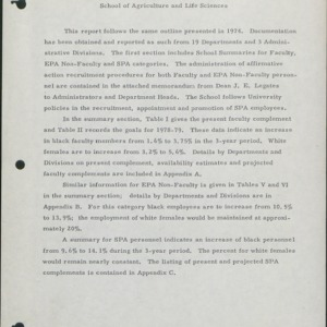 Affirmative Action Plan, Unit Reports (2 of 7) :: Affirmative Action Plans