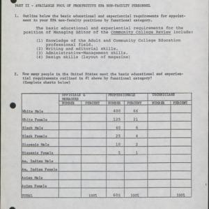 Affirmative Action Plan, Unit Reports (3 of 7) :: Affirmative Action Plans