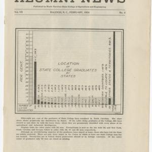 Alumni News, Vol. 7 No. 4, February 1924
