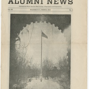 Alumni News, Vol. 7 No. 5, March 1924