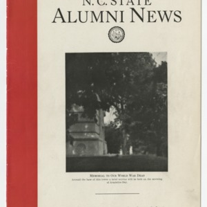 Alumni News, Vol. 5 No. 2, November 1932
