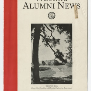 Alumni News, Vol. 6 No. 1, October 1933