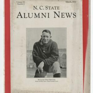 Alumni News, Vol. 9 No. 6, March 1937