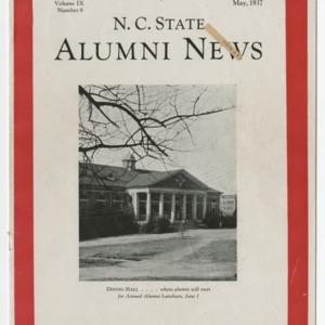 Alumni News, Vol. 9 No. 8, May 1937