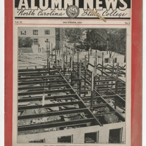 Alumni News, Vol. 11 No. 3, December 1938