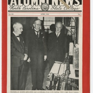 Alumni News, Vol. 12 No. 7, April 1940